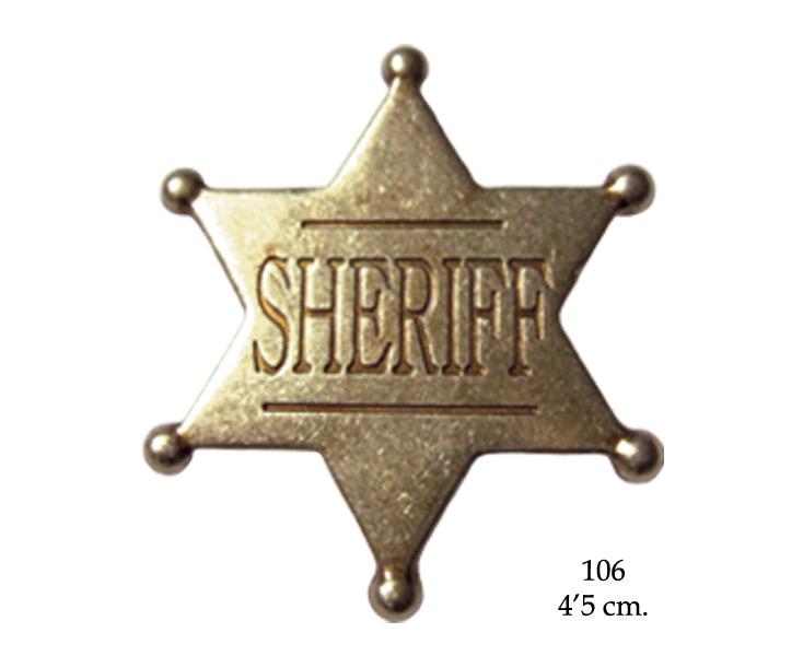 Hjem merker flagg sheriff star